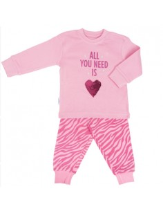 Frogs and Dogs Meijses Pyjama All You Need Parfait Pink