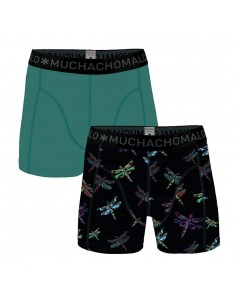 MuchachoMalo Cotton Modal 2Pack Dragon Fly Heren Boxershorts
