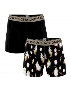 MuchachoMalo Cotton Modal 2Pack Penguin Heren Boxershorts