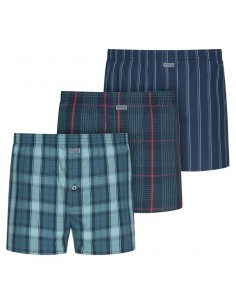 Jockey Boxershort Re-Defined Woven 3Pack Star Gazer