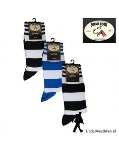 Bonnie Doon Stripes 3Pack Herensokken