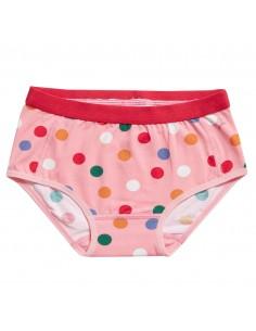 Ten Cate Meisjes Brief Slip Dots Pink 2-10Y