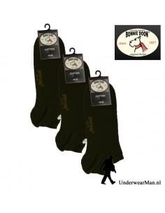 Bonnie Doon Sneakersok 3Pack Bruin