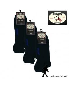 Bonnie Doon Sneakersok 3Pack Navy