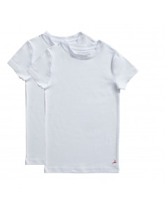 Ten Cate Jongens T-shirt 2Pack White 2-10Y Boys