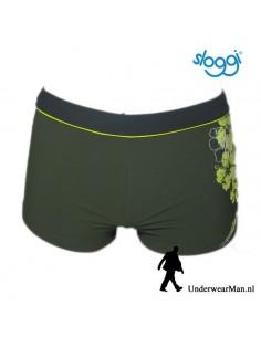 Sloggi Men Swim Olive Tropics Hipster