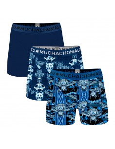 MuchachoMalo 3Pack TRANCE Jongens Boxershorts