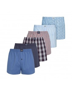 Jockey Boxershort Klassiek Woven POPPLIN 6Pack December Actie