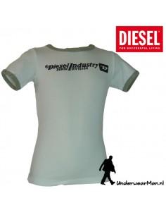 Diesel Kinderondergoed T-Shirt Wit Utraco