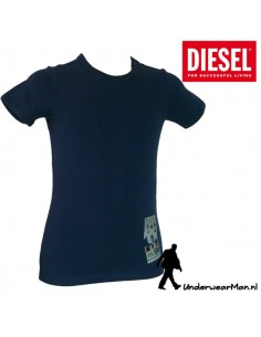 Diesel Kinderondergoed T-Shirt Blauw Ukiu