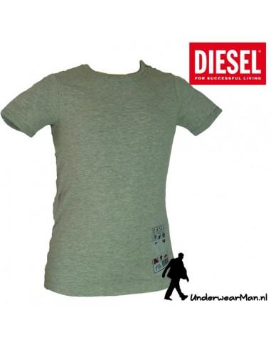 Diesel Kinderondergoed T-Shirt Grijs Ukiu