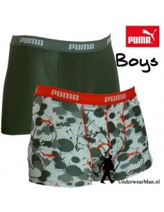 Puma Boxershort Spatter 2Pack Boys
