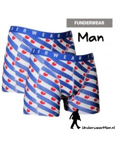 Funderwear Friesevlag 2 stuks Boxershorts