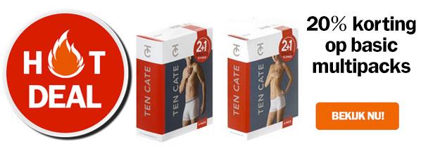 20% Multipack korting voor heren en dames