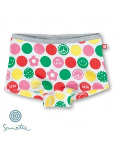 Sanetta Short Circles Meisjes Ondergoed
