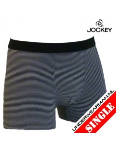 Jockey Trunk Stripe Black Modal Boxershort