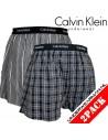 Calvin Klein Ondergoed Woven 2Pack Black BXR Matrix