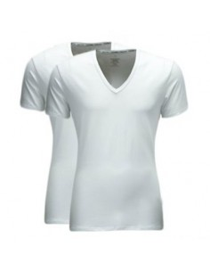 Calvin Klein t-shirt wit v-hals 2pack