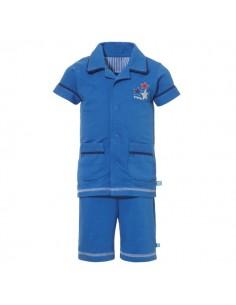 Lief! Shortama Kobalt Jongens ondergoed Pyjama