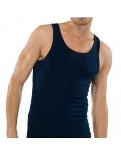 Schiesser Singlet Hemd 95/5 Blauw