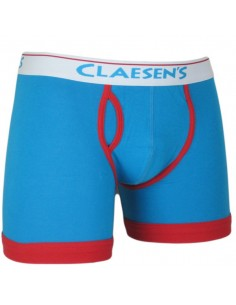 Claesens Heren Boxer Aqua Red