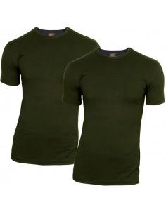 Claesens t-shirt 2 pack short sleeve black