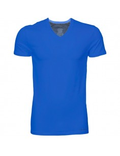 Calvin Klein T-shirt v-hals blue