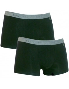 Schiesser Heup short 2Pack Zwart 95/5 Boxershort