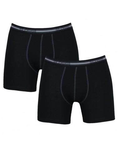 Sloggi Men Match Short zwart 2Pack