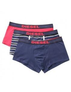 Diesel Shawn UMBX 3Pack Red Blue Stripe