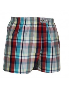 Jockey Boxershort Klassiek Woven Burn Red