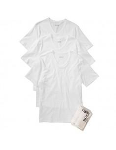 Hugo Boss Shirt V-Neck 3Pack Wit