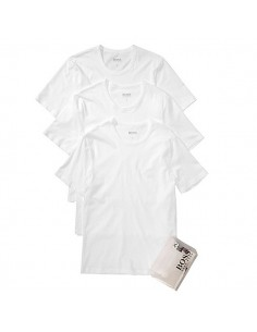 Hugo Boss Shirt V-Neck 3Pack Wit