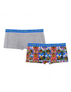 ChicaMala Short Jungle 2Pack