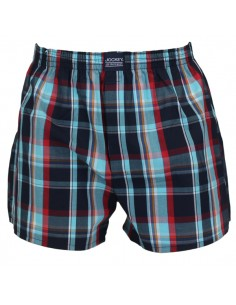 Jockey Boxershort Klassiek Woven Mint Navy
