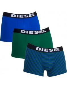 Diesel Diesel Shawn UMBX 3Pack Boxershort Blue Army Stripe