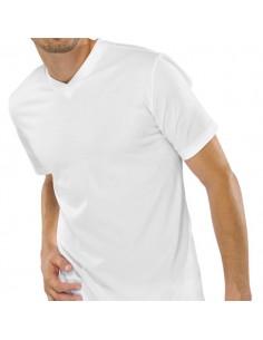 Schiesser American V-Shirt 2Pack White