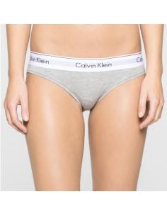 Calvin Klein Modern Cotton Bikini Grijs