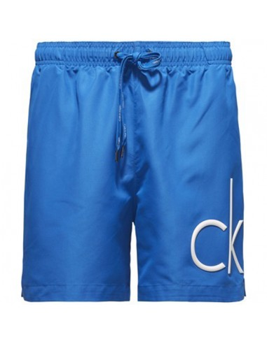 Calvin Klein Zwembroek Medium Logo Blue