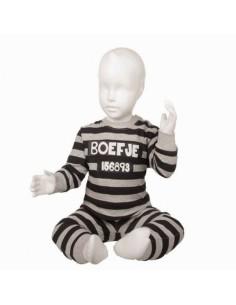 Fun2wear Pyjama Boefje Grijs glow in the dark