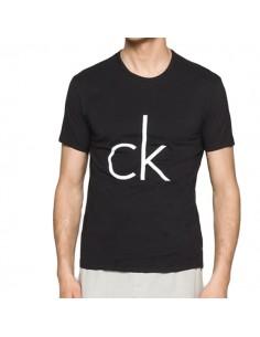 Calvin Klein T-shirt CK logo Black