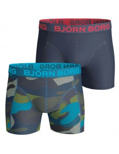 Björn Borg Short 2Pack BB Contrast Camo Skydiver