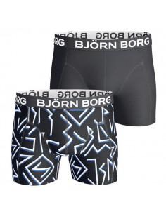 Björn Borg Short 2pack black 80's