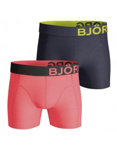 Björn Borg Short 2Pack BB Black Red