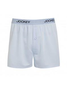 Jockey Boxershort Basic Lightblue stripe
