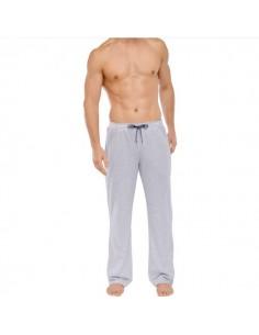 Schiesser Long Pants Lounge Broek Grijs