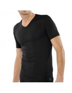 Schiesser V-Shirt zwart 95/5