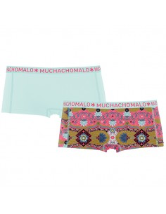 MuchachoMalo Persia Short 2Pack Dames Ondergoed