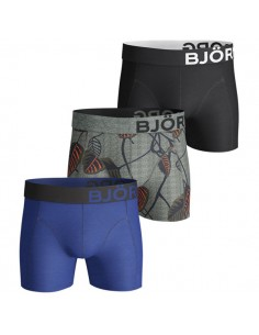 Björn Borg Boxershorts 3 Pack BB NATUR Black