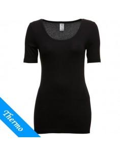Ten Cate Thermo Dames T-Shirt Zwart